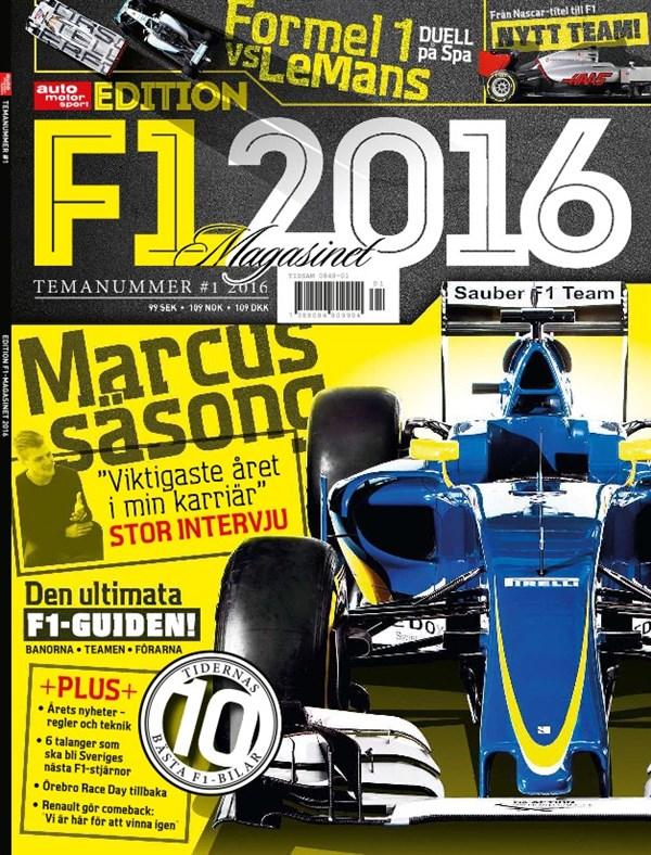 Special nr 1: Formel 1