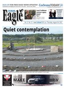 Sun dog delivers message of hope purpose and cold spell cochrane eagle for Cochrane pool swimming lessons